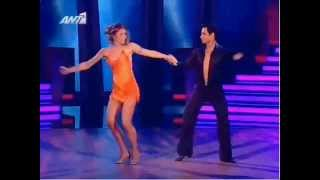 Dancing with the stars GR s01e01_Ευγενια,Ηλιας-ChaCha