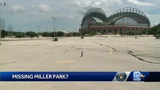 Lack of in-person baseball fans has ripple effect on Milwaukee economy