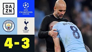 Bitteres Aus Für Pep Guardiola: Manchester City - Tottenham Hotspur 4:3 | Champions League | DAZN