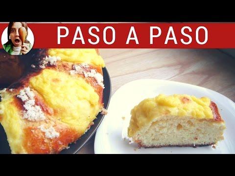 Cómo hacer rosca de pascua PASO A PASO / Receta de pascua fácil
