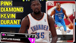 fea37311bca4 Pink Diamond Kevin Durant 71pt Gameplay! He Cant Be Stopped! Nba 19 Myteam