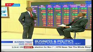 Business and Politics: Slowdown in economic performance