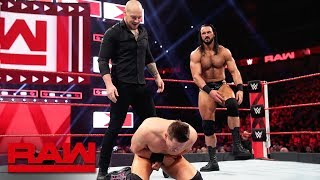 The Miz vs. Drew McIntyre vs. Baron Corbin: Raw, April 22, 2019