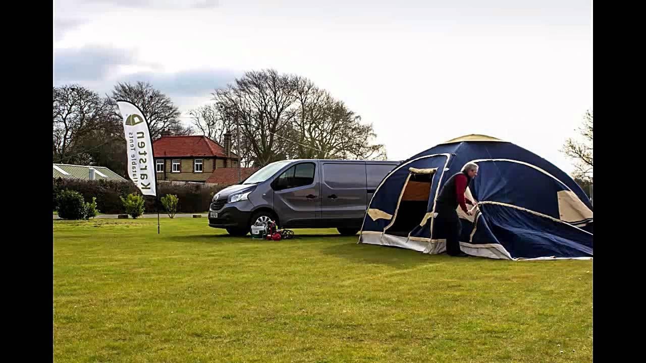 Karsten Air tent 350 + スリーピングルーム + オプション