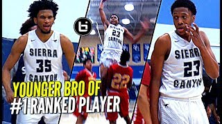Younger Bro of #1 Player Will Give You BUCKETS Too! Marcus Bagley Mixtape!