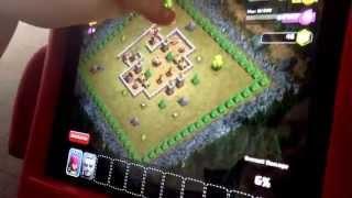 CLASH OF CLAN EPIC WAR! FIRST VIDEO!