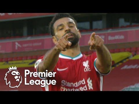 Mohamed Salah's hat trick for Liverpool against Leeds United   Premier League   NBC Sports