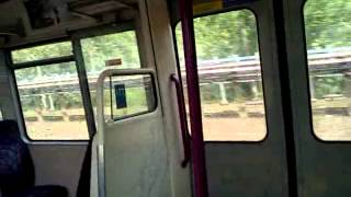 preview picture of video 'Metropolitan Line A60 Stock Journey between Harrow on the Hill and North Harrow on 20/06/12'