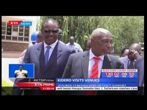 Nairobi Governor Evans Kidero tours World U-18 venues