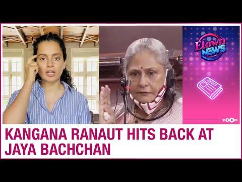 Kangana Ranaut HITS BACK after Jaya Bachchan lashes out at people defaming Bollywood industry