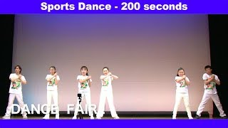 【Taiso-Dance】Sports Dance - 200 seconds / 「スポーツダンスー200秒」の英語版 by TOYS Dancers | Kids Dance Songs