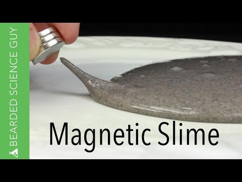 Watch adult fun how to make magnetic slime 10 march 2016 bearded science guy shows us how to make magnetic slime using glue borax water and iron filings credit youtube beardedscienceguy ccuart Gallery