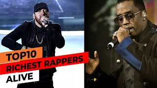 Top 10 RICHEST Rappers Alive! | Rappers With The Most Money Worldwide 2020 | Net Worth Rich Rappers