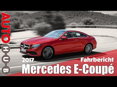 Mercedes-Benz E-Coupé im TEST