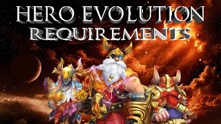 Castle Clash: Hero Evolution Requirements | What It Takes