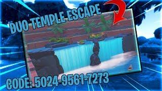 Duo Temple Escape Fortnite Creative Map Codes Dropnitecom