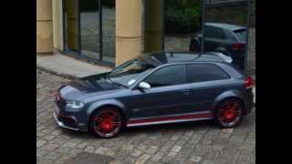 AUDI RS3 CONVERSION FROM STANDARD A3 MODEL BY XCLUSIVE CUSTOMZ