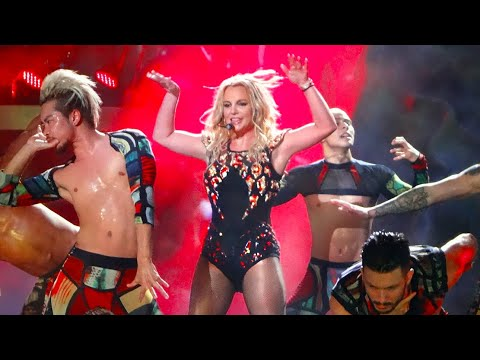 Download Britney Spears - Toxic (Live From Las Vegas - 2018 Edit) HD Mp4 3GP Video and MP3