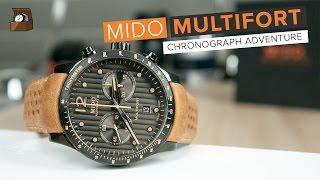 Mido MULTIFORT Chronograph Adventure // Testbericht // Deutsch // 4K