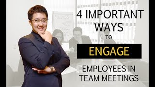 4 Ways on How to Engage Employees in Meetings