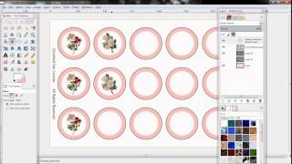 How To Make Bottlecap Images QUICKLY Using GIMP