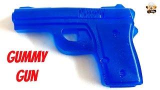 HOW TO MAKE GUMMY GUNS