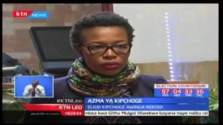 Mshindi wa Olimpiki Eliud Kipchoge anasema yuko tayari kuandikisha historia