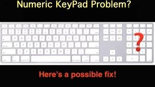 Fix for Numerical KeyPad Problem