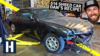 S14 Drift/Shred Car Built From a $500 Shell: Danger Dan's Not-So-Secret Recipe!