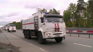 В Дагестан по поручению президента на помощь в борьбе с COVID-19 направлены дополнительные силы МЧС.