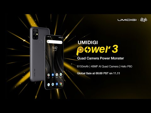 Quad Camera Power Monster UMIDIGI Power 3 is Here! Join Huge Giveaway