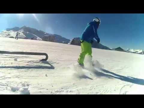 Avoriaz Snowboarding funpark 2015