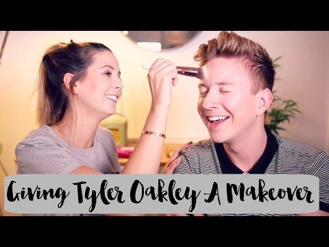 Giving Tyler Oakley A Makeover | Zoella