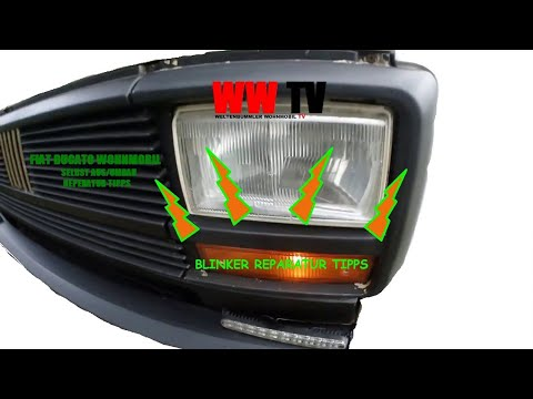 Wohnmobil Reparatur Fiat Ducato Blinker, Globetrotter TV