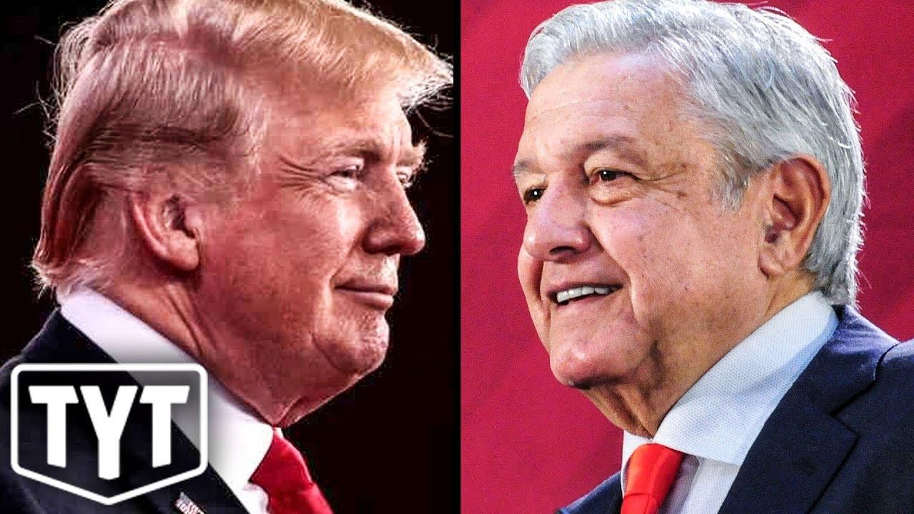 Trump Teams Up With Mexico thumbnail
