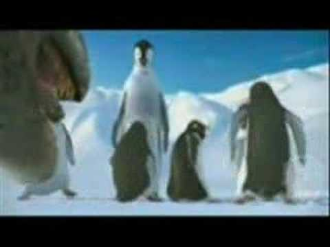 Humor video E-cards, happy feet gangsta gangsta funny humor