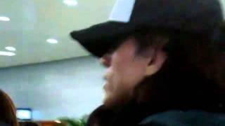言承旭 Jerry Yan 2011/11/08 Pudong Airport