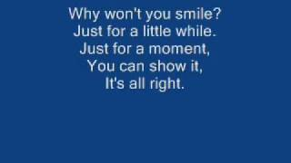 Chester See- Why won't you smile lyrics