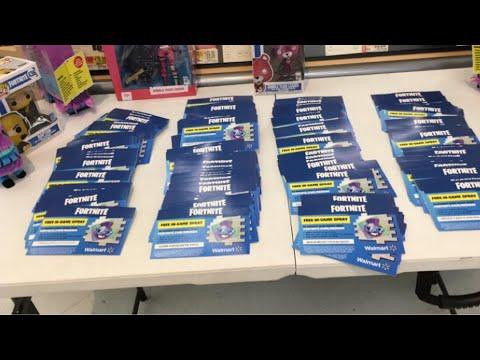 FORTNITE: Giving away 20 Exclusive Walmart Sprays! - смотреть онлайн