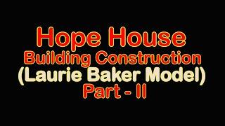 Hope House Construction - Low Cost Feature (Rat Trap Bond Walls)