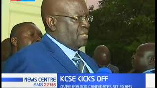 CS Magoha issues stern warning on cheating in the KCSE exams in Kisumu County