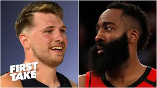 Luka Doncic vs. James Harden: Which Texas star would you rather have? | First Take