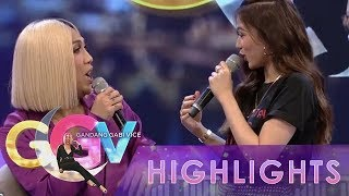 Vice Ganda welcomes Alex Gonzaga with exaggerated compliments.  Subscribe to the ABS-CBN Entertainment channel! - http://bit.ly/ABSCBNOnline  Watch the full episodes of Gandang Gabi Vice on TFC.TV   http://bit.ly/GGV-TFCTV and on IWANT.TV for Philippine viewers, click: http://bit.ly/GGV-IWANTv  Visit our official website!  http://entertainment.abs-cbn.com http://www.push.com.ph  Facebook: http://www.facebook.com/ABSCBNnetwork  Twitter:  https://twitter.com/ABSCBN https://twitter.com/abscbndotcom Instagram: http://instagram.com/abscbnonline  #GGVGandaKa #AlexGonzaga #GandangGabiVice