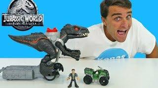 Imaginext Jurassic World Walking Indoraptor ! || Toy Review || Konas2002