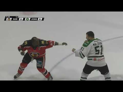 Danick Malouin vs. Cedric Verreault