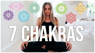 THE 7 CHAKRAS Beginners Guide  |  Balance + Law of Attraction | Renee Amberg