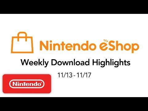 Nintendo eShop Weekly Highlights 11.13.2017