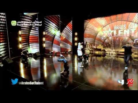 """فريق """"Entourage"""" يبهر جمهور """"Arabs Got Talent"""" برقصهم على الأنغام الشرقية والغربية"""