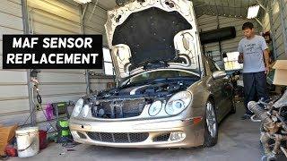 W211 Mercedes Egr valve cleaning important - Самые лучшие видео