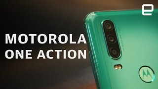 Motorola One Action Hands-On: A smartphone with an action camera?